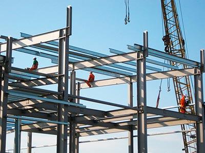 монтаж металлоконструкций зданий и сооружений